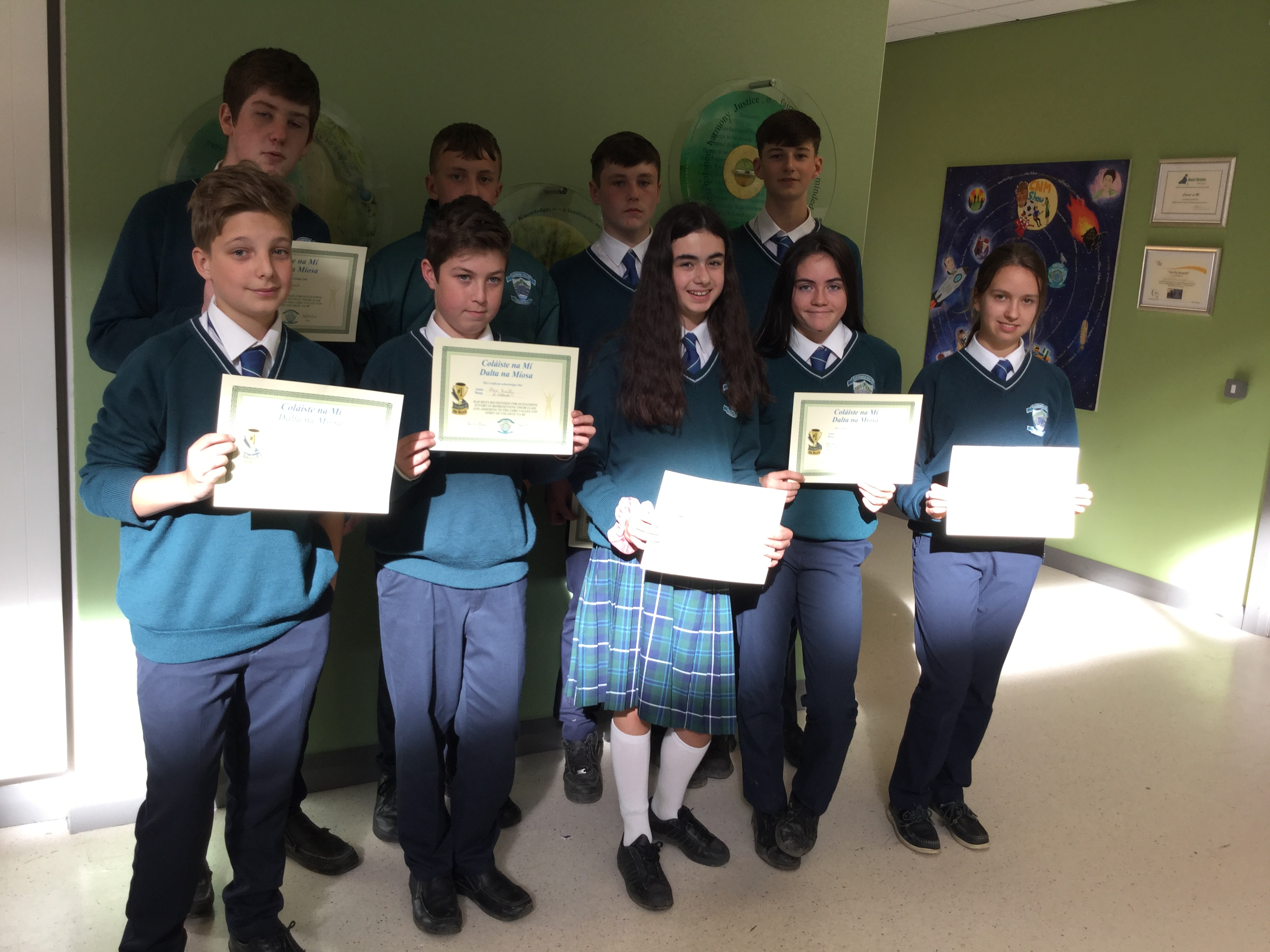 September Student's of the Month